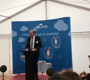 Discours officiel de Monsieur Alain Gest, Président d'Amiens Métropole
