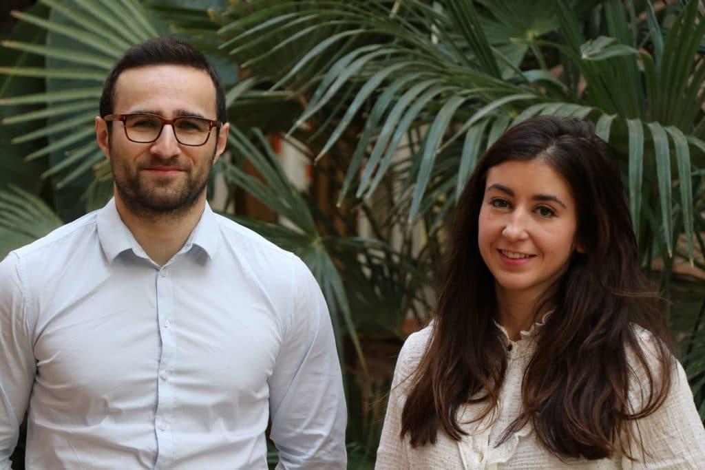 Baptiste Amato et Clara Revel