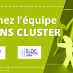 Bandeau Offre d'emploi Amiens Cluster - Le Bloc e-santé